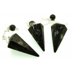 Preseli Bluestone Gemstone Point Pendulum