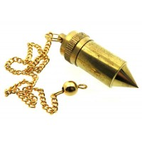 Brass Bullet Shaped Pendulum