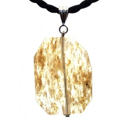 Angels Breath Andara Crystal Large Faceted Pendant