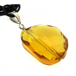 Nugget Sunset Andara Crystal Pendant