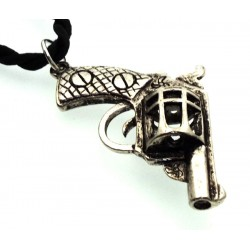Metal Handgun Design Pendant