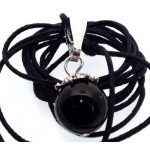 12mm Rainbow Obsidian Gemstone Sphere Pendant
