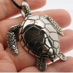Stainless Steel Turtle Pendant