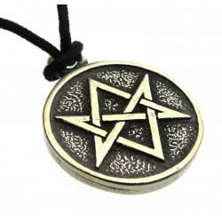 Metal Hexagram Pendant