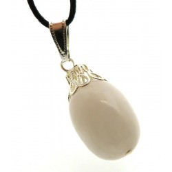Snow Quartz Gemstone Drop Pendant