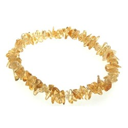 Citrine Gemstone Light Chip Bracelet