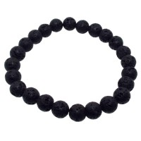 8mm Lava Rock Power Bracelet