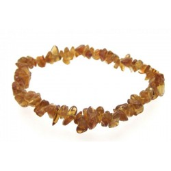 Brandy Citrine Gemstone Chip Bracelet