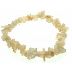 Indian Moonstone Gemstone Chip Bracelet