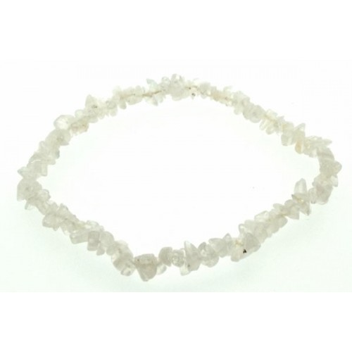 Rainbow Moonstone Gemstone Chip Bracelet