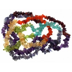 36 Inch Chakra Gemstone Necklace