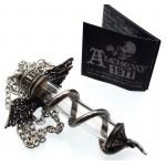 Alchemy Rod of Asclepius Necklace