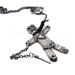 Alchemy Voodoo Doll Necklace