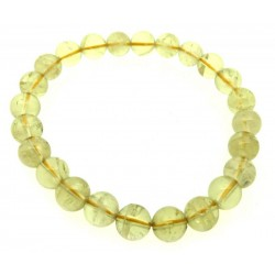 7mm Natural Citrine Gemstone Power Bracelet