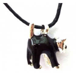 Familiar Witches Black Cat Pendant