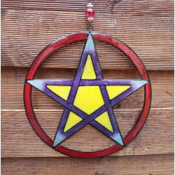 Pentacle Colourful Hanging Mobile