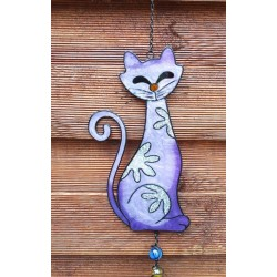 Cat Colourful Hanging Mobile