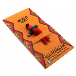 Mini Guatemalan Worry Doll for Weight