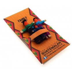 Mini Guatemalan Worry Doll for Family