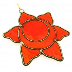 Sacral Chakra Symbol Mini Suncatcher