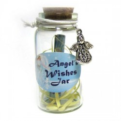 Angel Wishes Jar with Angel Trinket