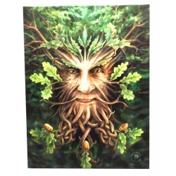 Small Green Man Canvas