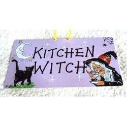 Witchy Hanging Sign Kitchen Witch