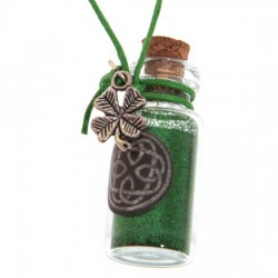 Witches Luck Glitter Dust Pendant