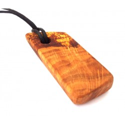 Wooden Oak Hanging Charm 01
