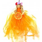 Hand Crafted Hanging Citrus Goddess Doll