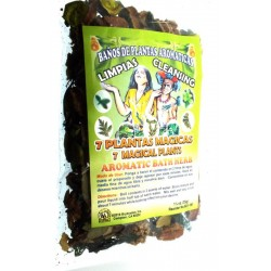35gms 7 Magical Plants Aromatic Bath Herbs