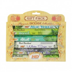 6 Hari Darshan Herbal Incense 20x Stick Gift Pack