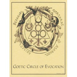 Goetic Circle of Evocation Pagan Poster