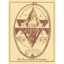 The Great Symbol of Solomon Pagan Poster