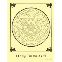 The Sigillum Dei Emeth Pagan Poster