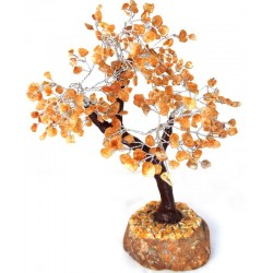 Medium Citrine Gemstone Crystal Tree