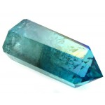 Aqua Aura Quartz Gemstone Tower 05