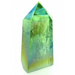 Apple Aura Quartz Gemstone Tower 05