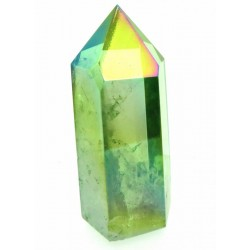 Apple Aura Quartz Gemstone Tower 06