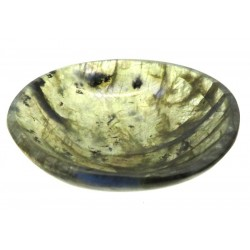 Small Labradorite Carved Gemstone Bowl 02