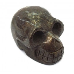 Pyrite Carved Skull 01
