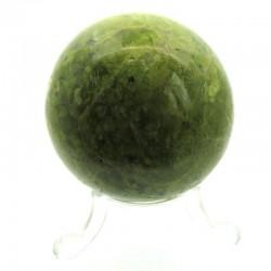 Green Opal Gemstone Sphere 02