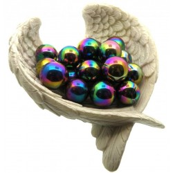 Titanium Aura Quartz Gemstone Sphere 16mm to 18mm