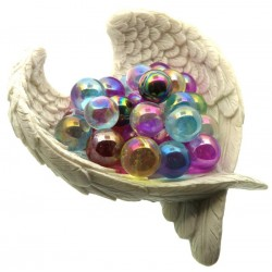 Small Lucky Dip Aura Quartz Gemstone Sphere