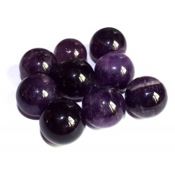 Amethyst Gemstone Sphere 19mm