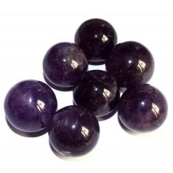 Amethyst Gemstone Sphere 21mm