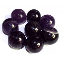 Amethyst Gemstone Sphere 24mm