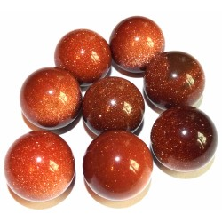 Goldstone Gemstone Sphere 24mm