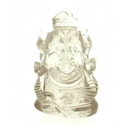 Quartz Carved Ganesha Design 7