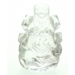 Quartz Carved Ganesha Design 8